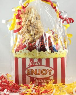 Specialized Candy and Popcorn Gift Box