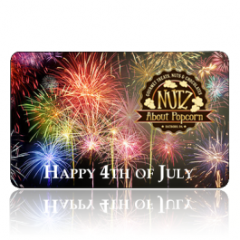 4th Of July Gift Card