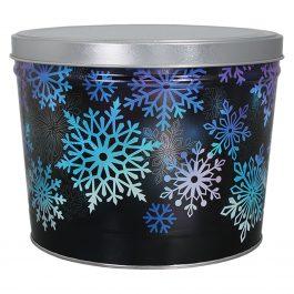 Medium Tin – Holiday Spectral Snowflakes