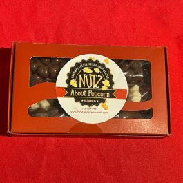 Small Red Gift Box with Candy or Nutz